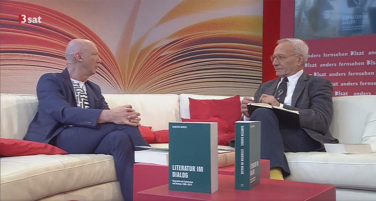 Interview am 3sat-Stand Buchmesse:Leipzig